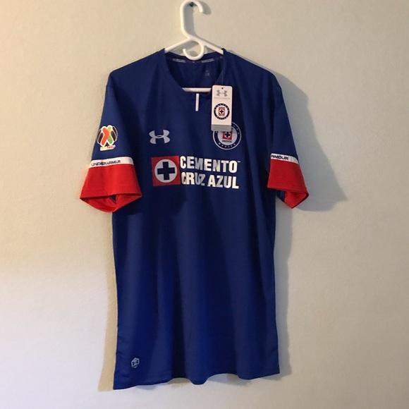 c945279ff52 Cruz Azul soccer Jersey 18 19